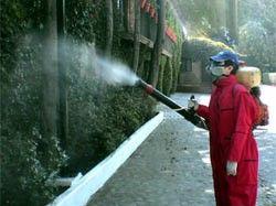 Fumigación por medio de Nebulización